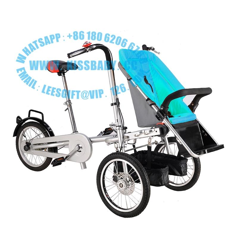 3 wheel folding stroller bicycle mother baby taga nucia font b bike b font