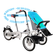 3 wheel folding stroller bicycle mother baby taga  nucia bike