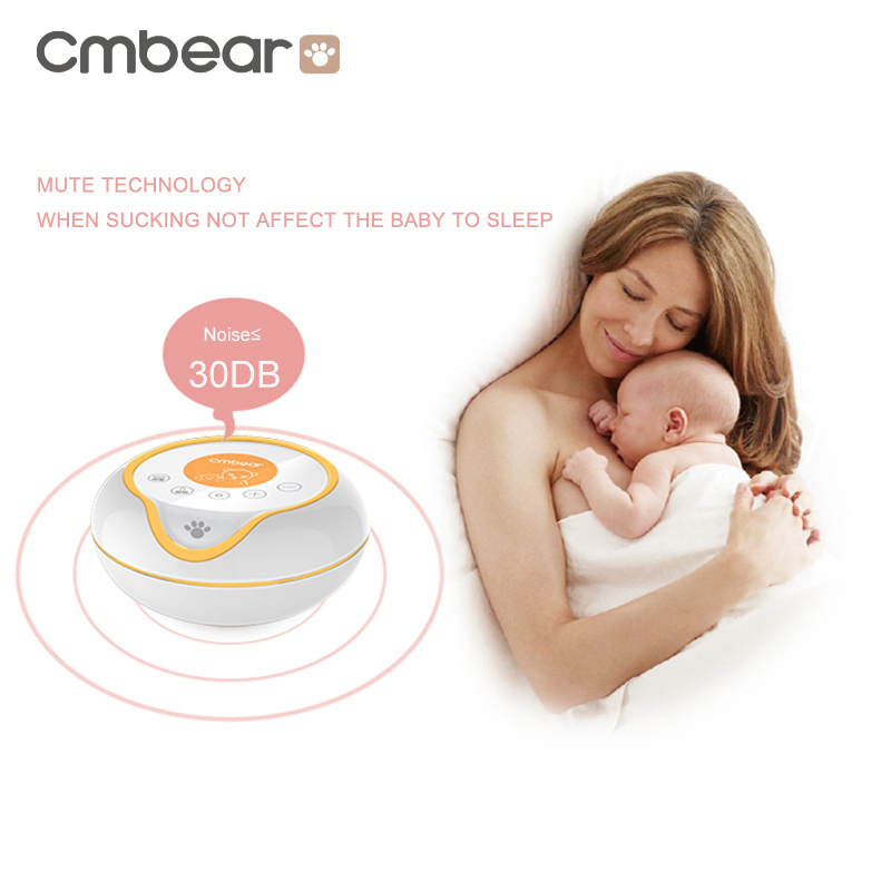 USB Rechargeable Electric Breast Pump with Large and Powerful Suction and Automatic Massager 4
