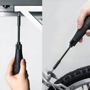 Image 5 - Novo xiaomi mijia wiha 8 em 1 catraca chave de fenda casa alta precisão mordida cartuchos ferramentas reparo chave de fenda casa inteligente