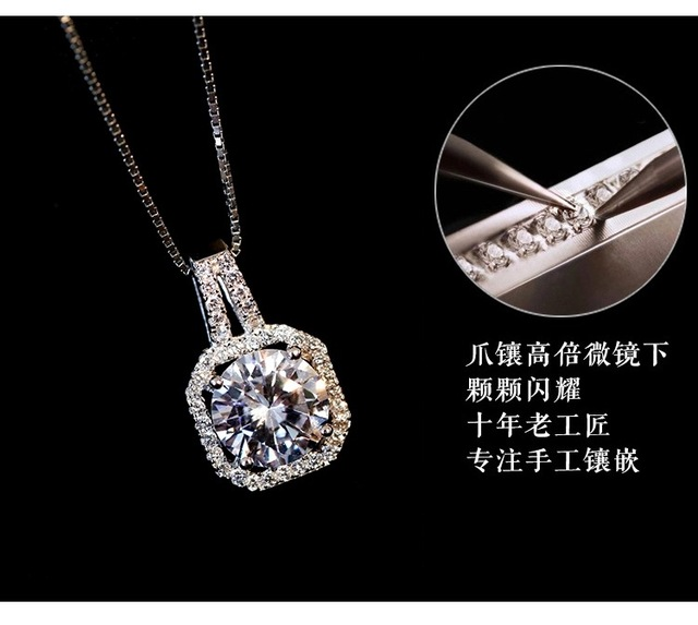 2019 New sector Original Crystals from Austrian Opal Choker Necklaces 925 Jewelry For Women Christmas Party