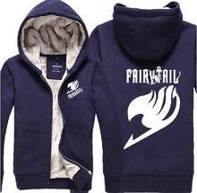 New Autumn winter men Hip hop hoodie Fairy Tail cardigans sweatshirt  hoody Pop woman coat Free shipping