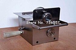 Modelo CR-42A máquina de corte de salchichas de mano pequeña; máquina de atado de salchichas; máquina de salchicha manual Nórdica