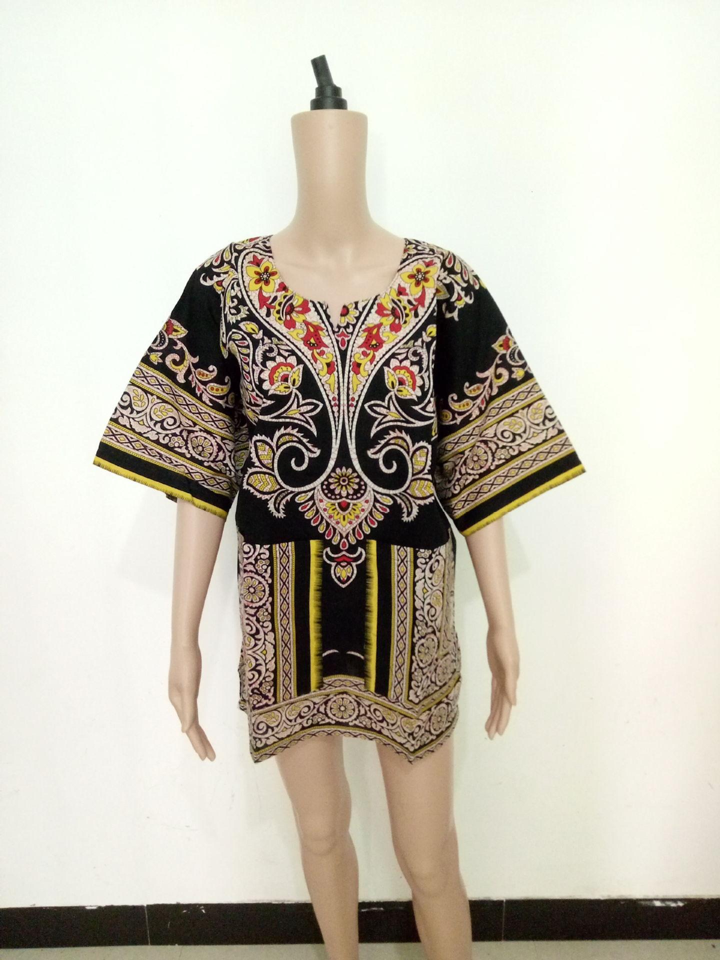 Ropa africana tradicional para mujer Vestido de dama de África Bazin Riche Vestido africano Vestido de mujer africano Dashikis zeny saty