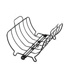 Портативный ягненка на открытом воздухе антипригарным Ресторан домашнее кемпинговое Съемная Турция садовый гриль для барбекю обжарки стенд стейк подставка с ребрами