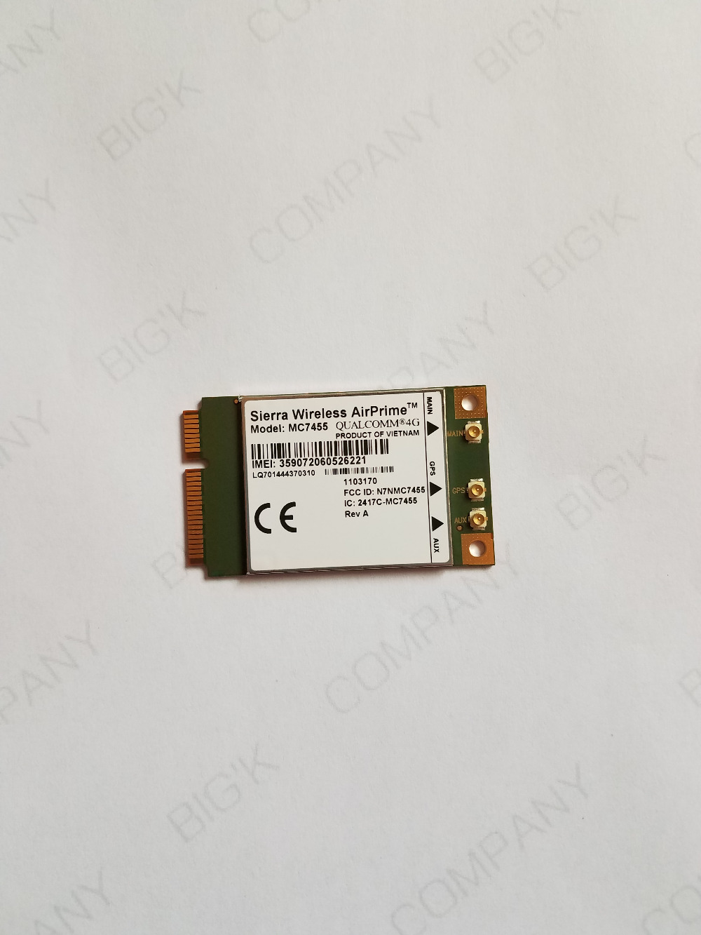 JINYUSHI FOR MC7455 AirPrime FDD TDD LTE 4G CAT6 DC HSPA GNSS CAT6 USB 3 0