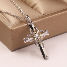 Cross Necklaces Fashion Jewelry Accessories Hearts and Arrows Jewellery Fine Pendant Necklace