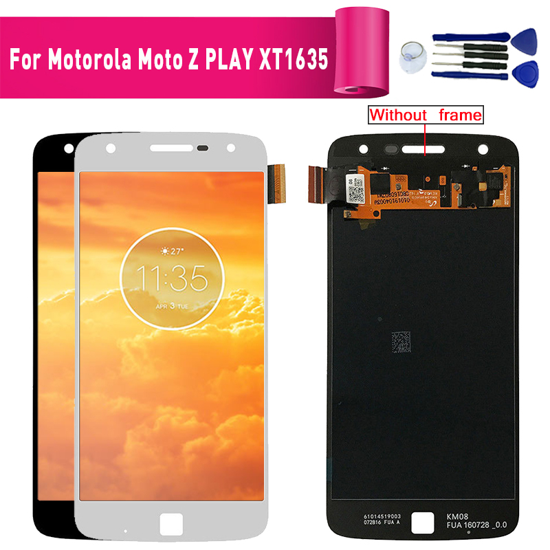 For Motorola Moto Z Play <font><b>XT1635</b></font> Display lcd Screen replacement for Motorola z play <font><b>xt1635</b></font> lcd display screen module image