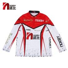NOEBY анти-УФ-защита рыболовная рубашка одежда для рыбалки Джерси рыболовные снасти наружная спортивная одежда с длинным рукавом и коротким рукавом