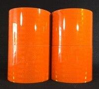 15cm*1M 3M dangerous goods car reflective logo import 3934 orange reflective film reflective tape warning stickers