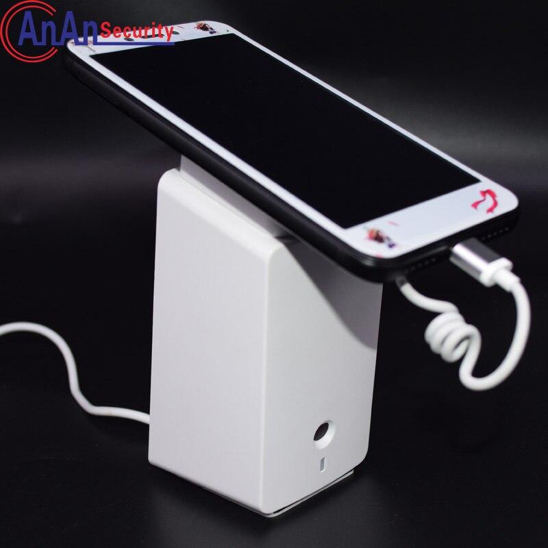 5 pièces haut câble d'alarme interne téléphone portable sécurité alarme Stand téléphone portable anti-vol avec pince anti-perte