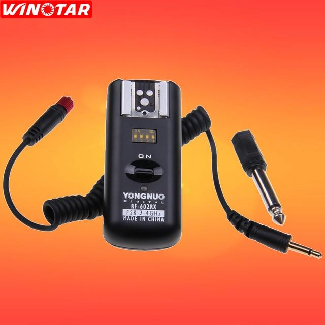 Yongnuo RF602 RF 602 2.4Ghz Flash Draadloze Ontvanger Voor Canon Nikon Dslr Camea