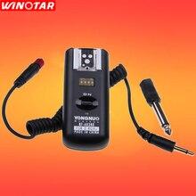 Yongnuo rf602 RF 602 2.4ghz flash sem fio receptor para canon nikon dslr camea