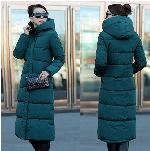 7-14 days To Moscow New Spring/Winter Design Women's Cotton Slim Zipper Coat Hooded Jackets Coats Overcoat Plus Size Down Parkas