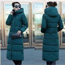 Free Shipping 2017 New Autumn Winter Design Women's Cotton Slim Zipper Coat Hooded Jackets Coats Overcoat Plus Size Down Parkas