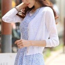 M-XL, летние женские вязаные повседневные короткие свитера с v-образным вырезом, кардиганы, женская трикотажная одежда
