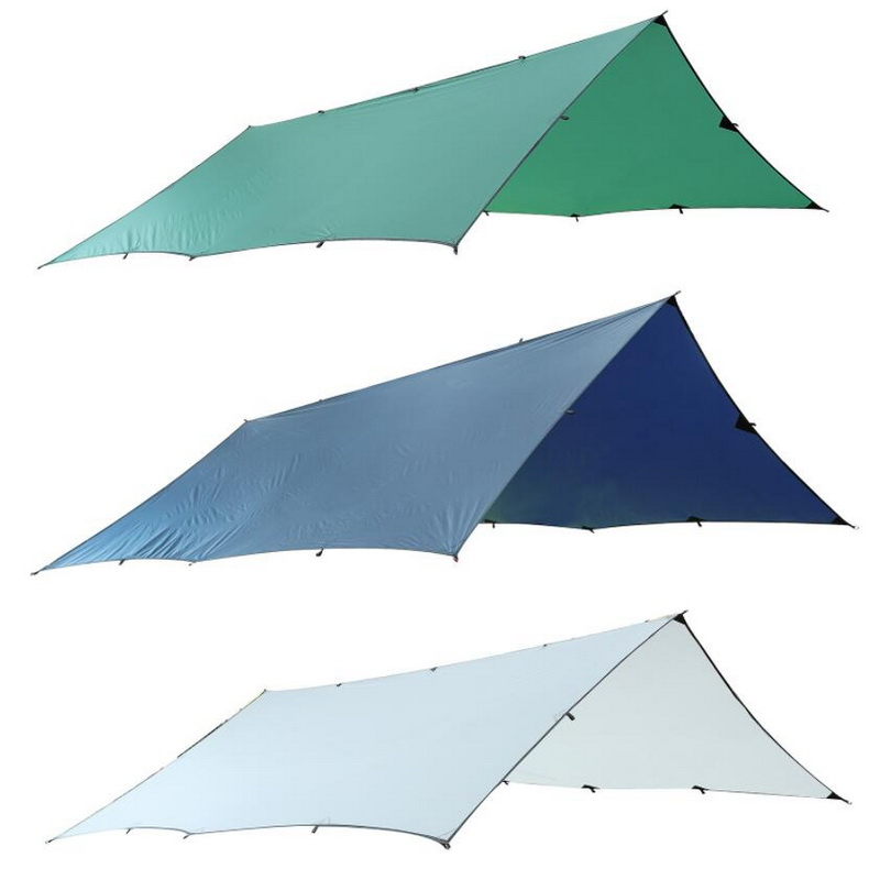 Large outdoor tent, canopy. Silicon coated light high waterproof fabric multi-person tarpaulin, rainproof sunscreen awning 5m 8mlarge outdoor tent canopy silicon coated light high waterproof fabric multi person tarpaulin rainproof sunscreen awning