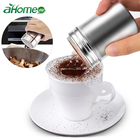 Stainless Steel Chocolate Sugar Shaker Coffee Dusters Cocoa Powder Cinnamon Dusting Tank Kitchen Filter Cooking Tool