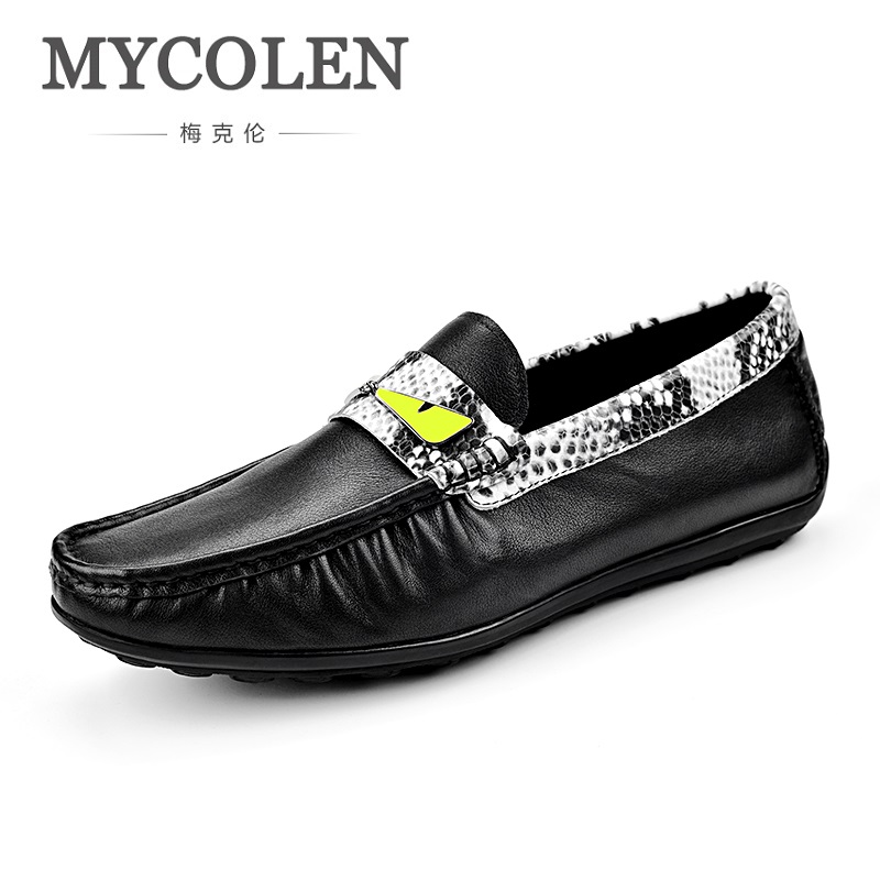 MYCOLEN 2018 New Spring/Autumn Men Casual Shoes comfortable Flats Shoes Fashion Casual Doug male Shoes sapatos masculino