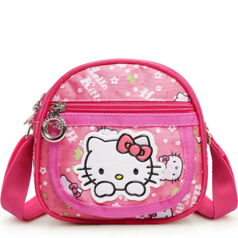 171720d973 HelloKitty messenger bag girls student crossbody bag cartoon cute school  satchel shoulder bag pink