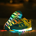 USB Charging Luminous Shoes Children Shoes With Light New Arrivals Colorful Flash Fashion Sneaker LED Light Chaussure Hot Sale
