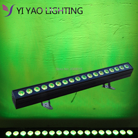 18x12w RGBWA 5 In 1 bar Wall Wash DMX512 Washer Led Outdoor /Flood DJ Light