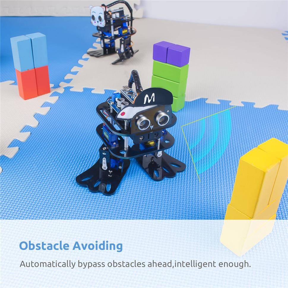 SunFounder DIY 4-DOF Robot Kit -Sloth Learning Kit for Arduino Nano DIY Robot (4)