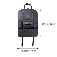 1 PC Car Storage Bag Universal Box Back Seat Bag Organizer Backseat Holder Pockets Car-styling Protector Auto Accessories For Kids