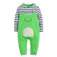 цена на Newborn baby clothes Long Sleeve Spring Autumn Baby Rompers 100% Cotton Soft Infant Clothing toddler baby boy girl jumpsuits