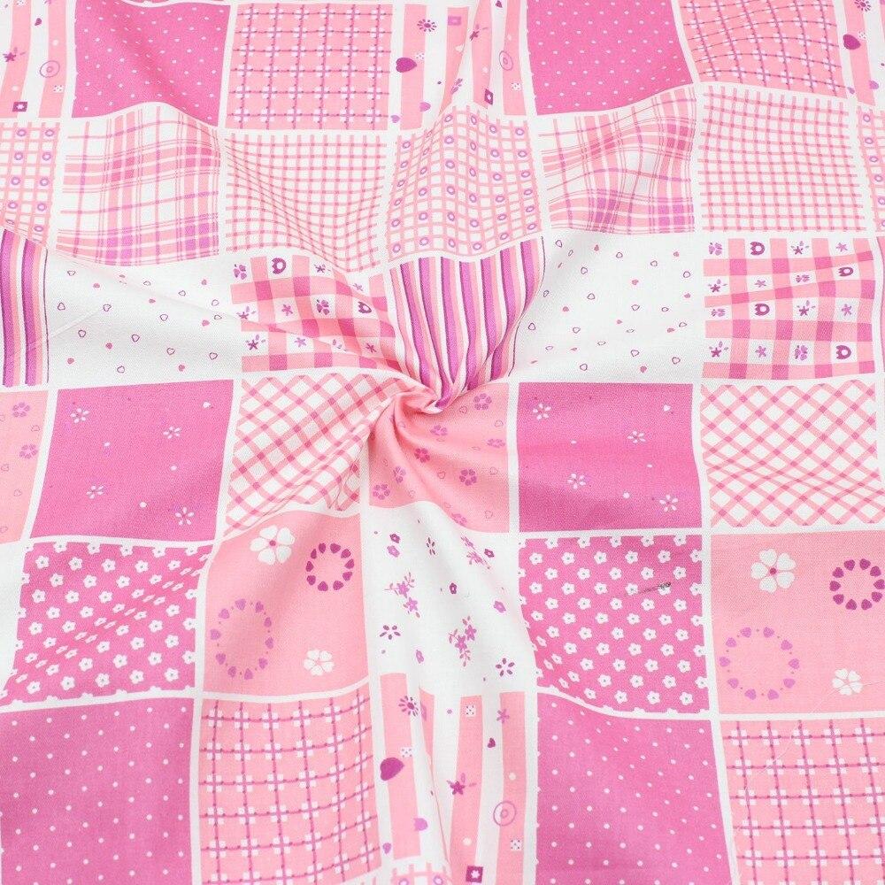 2015 New,50cm*150cm Lattice Cartoon Series,100% Cotton Fabric, Handmade Kids Products.15070639.