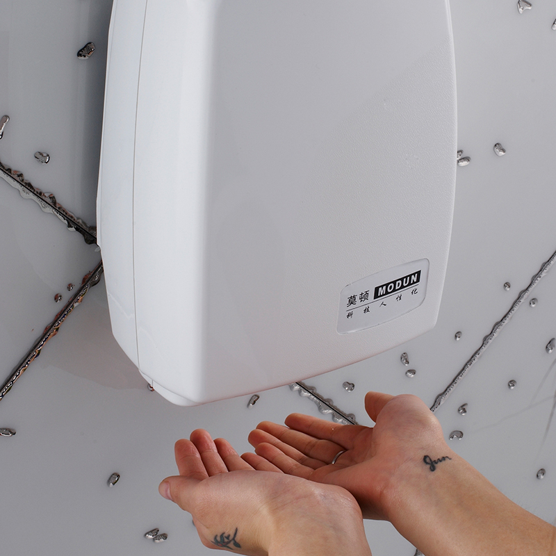 High Quality Automatic Induction Hand Dryer Hotel Household Bathroom Single Heat Blowing Hands Drying Hands Machine 60db Noise shanghai kuaiqin kq 5 multifunctional shoes dryer w deodorization sterilization drying warmth