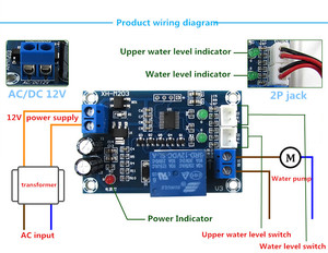 Image 1 - XH M203 Full Automatic Water Level Controller Pump Switch Module AC/DC 12V Relay Aug24 Drop Ship