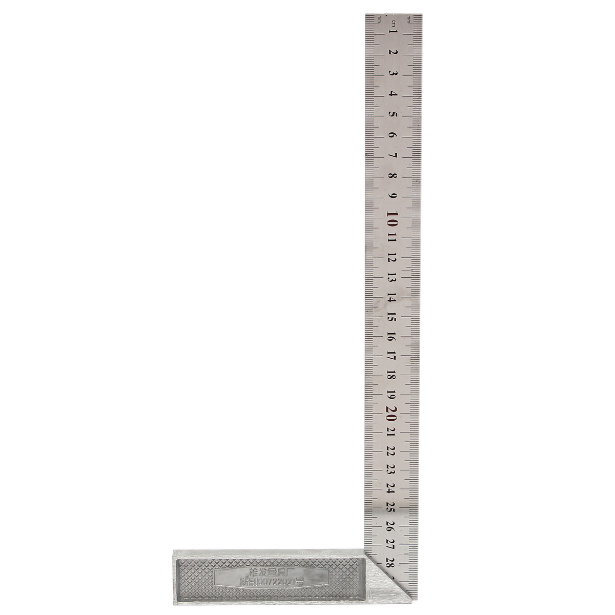 Angle Square Ruler 30cm Stainless Steel Right Measuring Squares Material Steel Type Rectangular Device Range Measurement