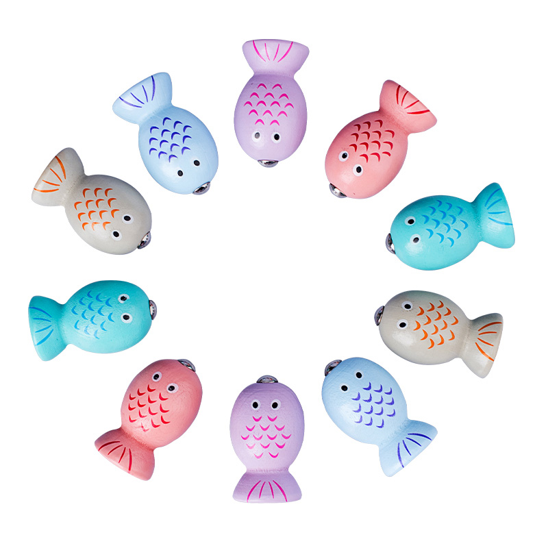 Baby Wooden Toys Digit Magnetic Games Fishing Toys Game Catch Worm Educational Puzzle Toys For Children Girl Gifts in Fishing Toys from Toys Hobbies