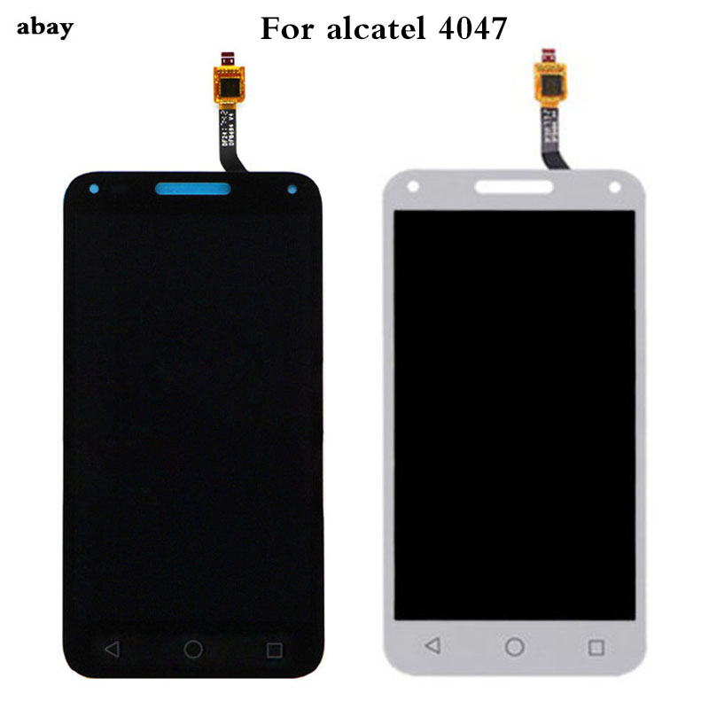 5.0 Inch For <font><b>Alcatel</b></font> One Touch U5 3G 4047 <font><b>4047D</b></font> 4047G OT4047 OT4047D OT4047G <font><b>LCD</b></font> Display+Touch Screen Digitizer Assembly image