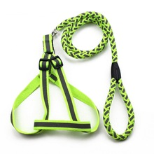 Professional Outdoor Pet Harness Leash For Dogs Leads Rope New Supplies Pet Products S,M,L