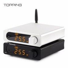 TOPPING MX3 TDA7498E PCM5102A Многофункциональный Bluetooth цифровой Hifi аудио усилитель 40 Вт* 2 USB коаксиальный волокно усилители декодера