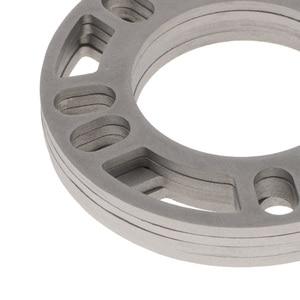 Image 3 - 4 Pcs 5mm Car Wheel Spacer Shims Plate 4 5 STUD Universal For Auto 4x100 4x114.3 5x100 5x108 5x114.3 5x120 Etc Car Accessories