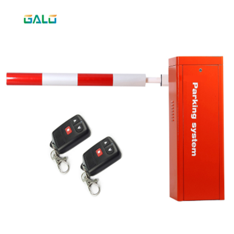 Barrier Gate Heavy-duty Holiday Orange-red Automatic Boom Isolation Door Is Used For Parking Traffic Charges Parking Barrier