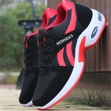 New spring and autumn air cushion sneakers mens shoes mesh breathable casual travel