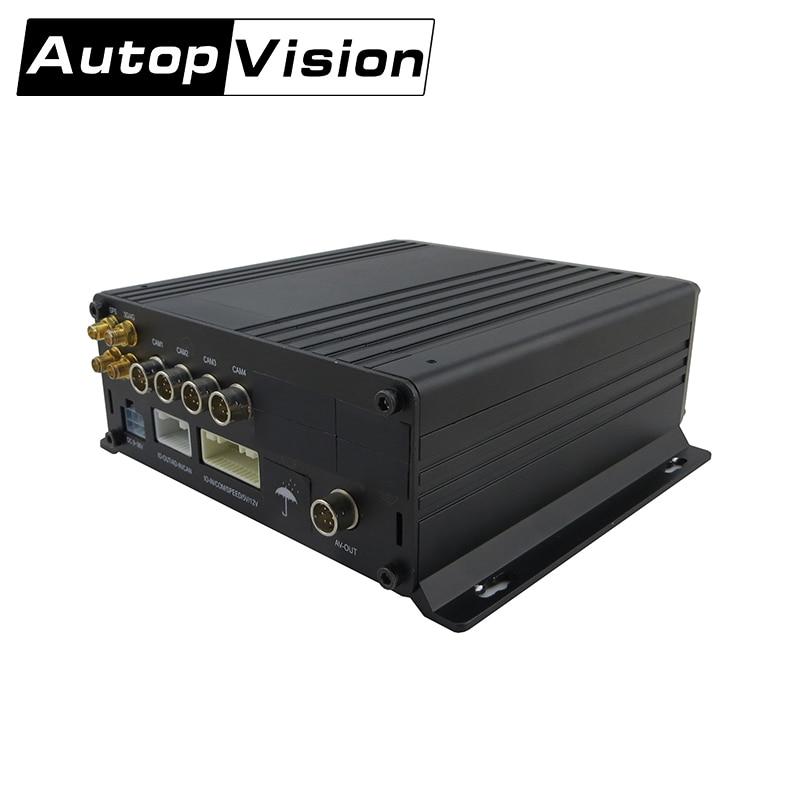 MDR9204 spedizione gratuita Mega Pixel HD HDD MOBILE NVR 4 H network video recorder, canali NVR, indoor telecamera di sicurezza esterna