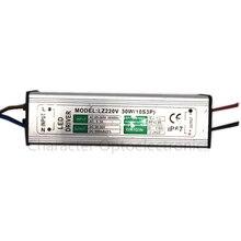 2pcs AC85V-265V to DC30V-36V LED Driver 900mA 30W Adapter Transformers Power Supply waterproof rainproof For Floodlight lamp