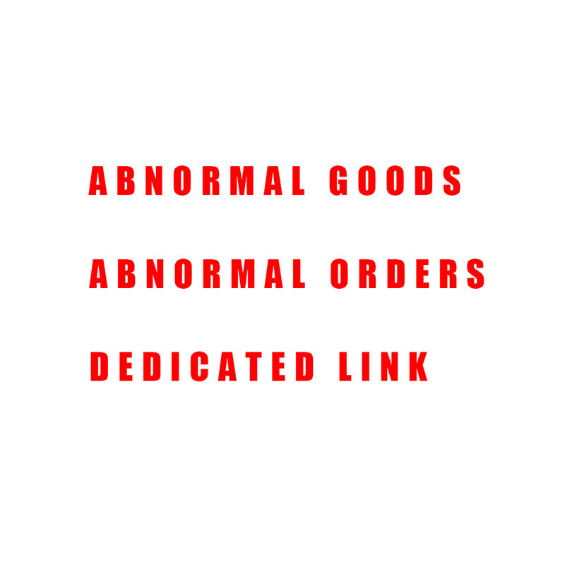 Abnormal Goods Abnormal Orders Dedicated Link 1