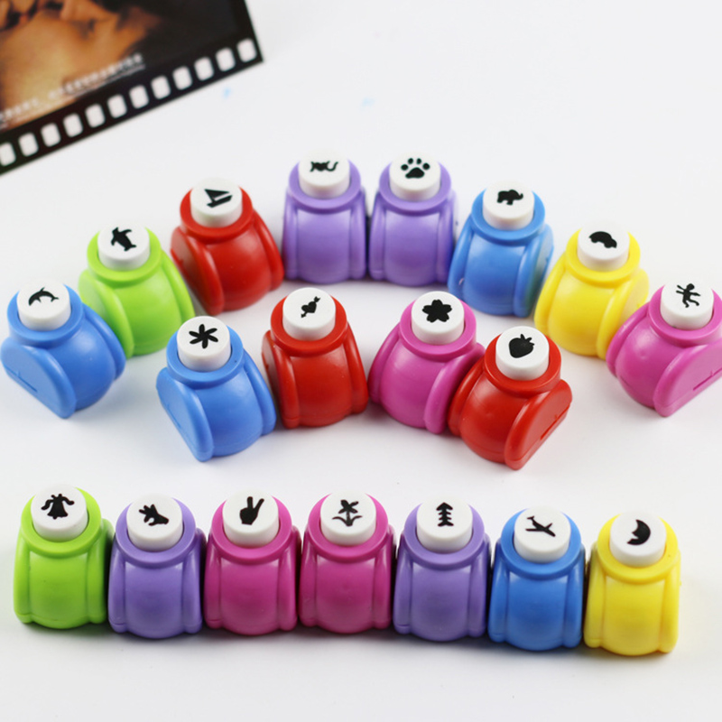 Scrapbook Punches Handmade Cutter Card Craft Calico Printing Flower Paper Craft Punch Hole Puncher Embosser DIY Toys 1-15 Styles