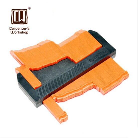 """160mm/6.2"""" Shape Template Curvature Scale Ruler Contour Gauge Laminate Carpet Wood Tile Profile"""
