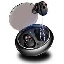 New V5 bluetooth casque ecouteur sans fil Headset TWS Mobile Wireless 5.0 Ear-to-ear koptelefoon ecouteurs avec