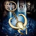 2016 New Design Avengers Key Rings Thor Loki Helmet Keychain Mask Metal Toy Pendant Keyrings  Key Chain Free Shipping YSK050