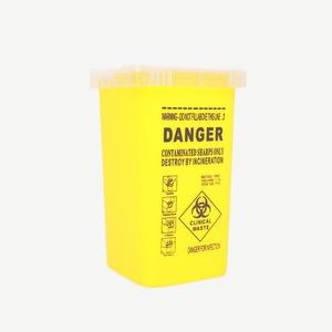 Image 2 - 1L Capacity Sharps Container Medical Needles Bin Biohazard Tattoo Piercing Needles Disposal Collect Box Tattoo Artist Waste Box
