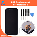 LL TRADER Touch Screen Black LCD Screen for Motorola E XT1021 XT1022 XT1025 Display Digitizer Assembly with Frame Replacement