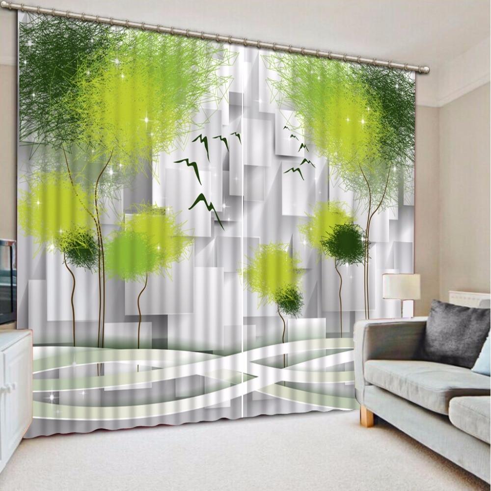 Custom Any Size 3D Curtain Lattice Depicting Trees Window Curtain Living Room 3D Bathroom Curtain 3D Curtain BlackoutCustom Any Size 3D Curtain Lattice Depicting Trees Window Curtain Living Room 3D Bathroom Curtain 3D Curtain Blackout